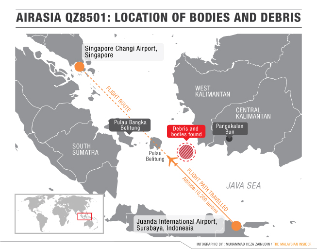 Singapore aviation authority says flight QZ8501 approval \'based on ...