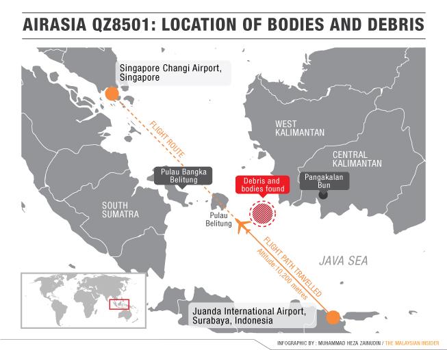Singapore aviation authority says flight QZ8501 approval \'based on ...